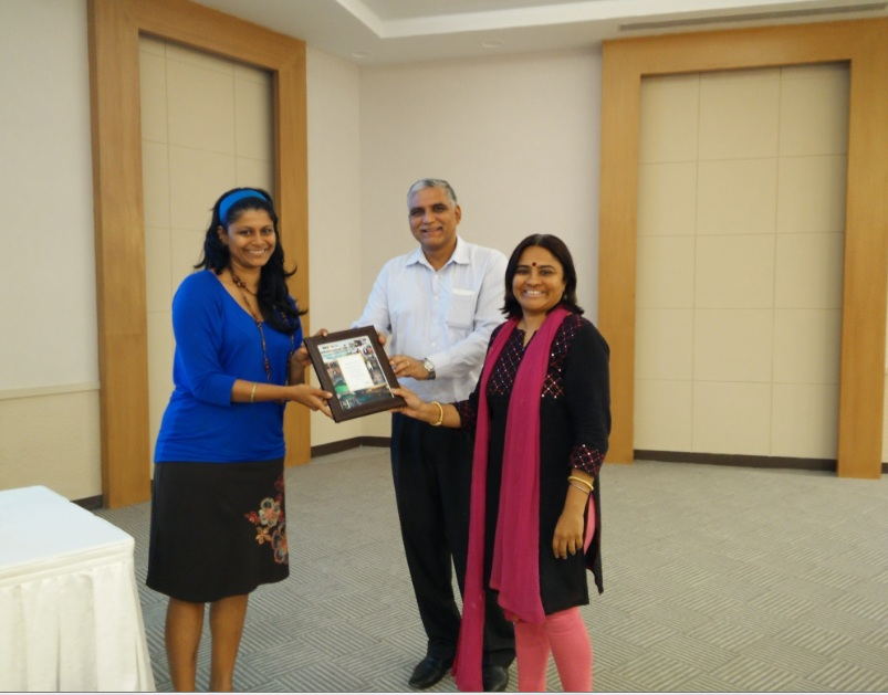 MWC Club Felicitation - Pavitra Sri Prakash of Shilpa Architects