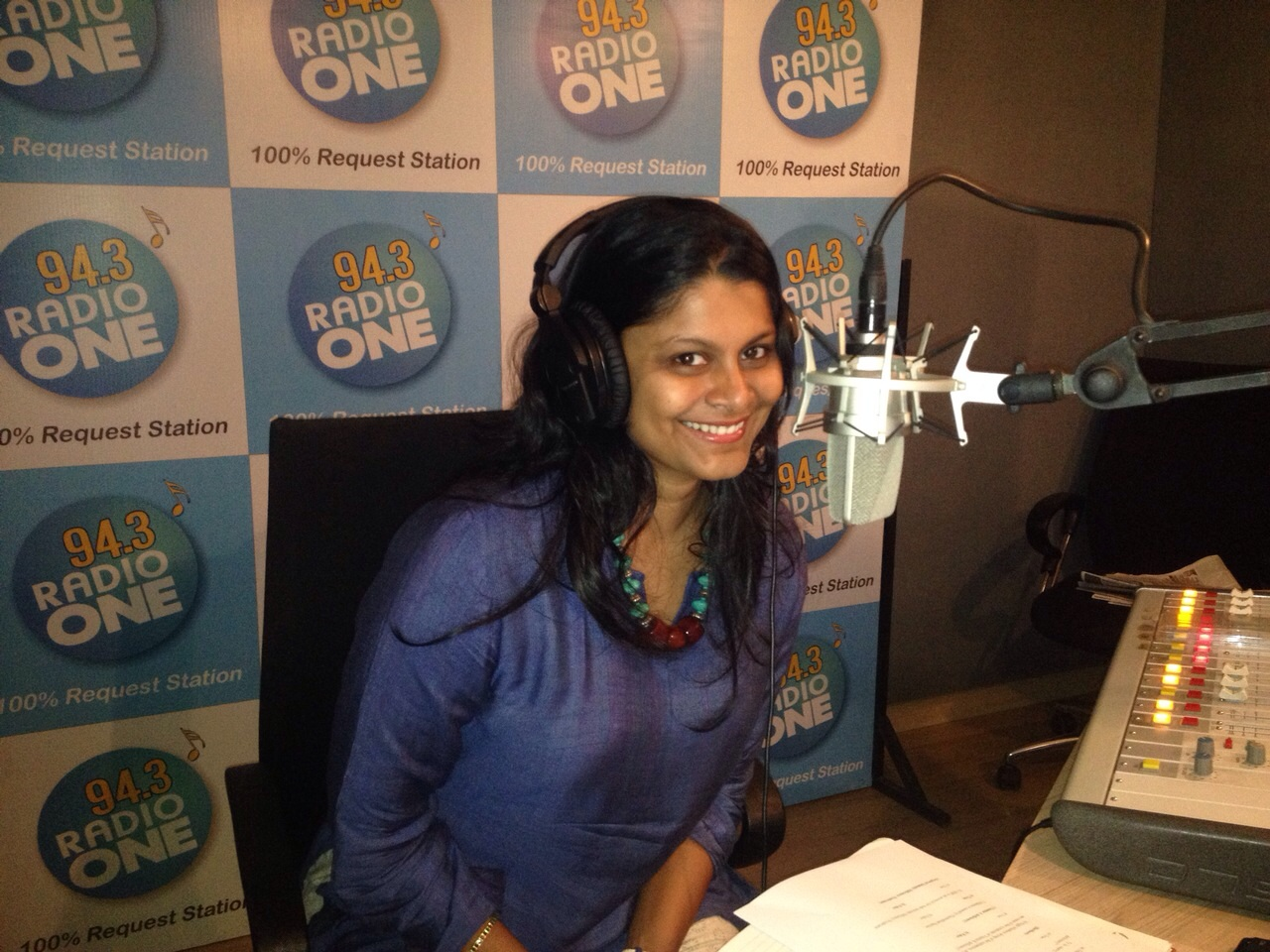 Radio One 94.3 with Pavitra Sri Prakash
